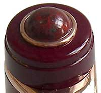 Pietra rossa sulla testina